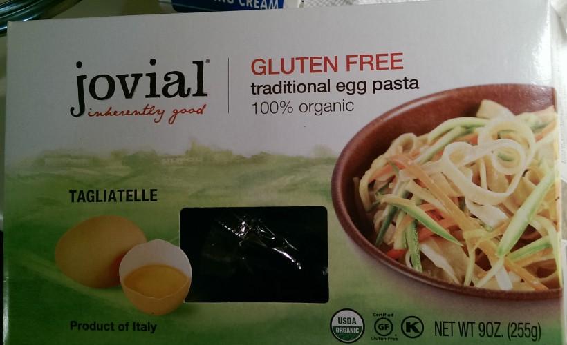 Creamy Veggie Tagliatelle - The Half-Crunchy Mama