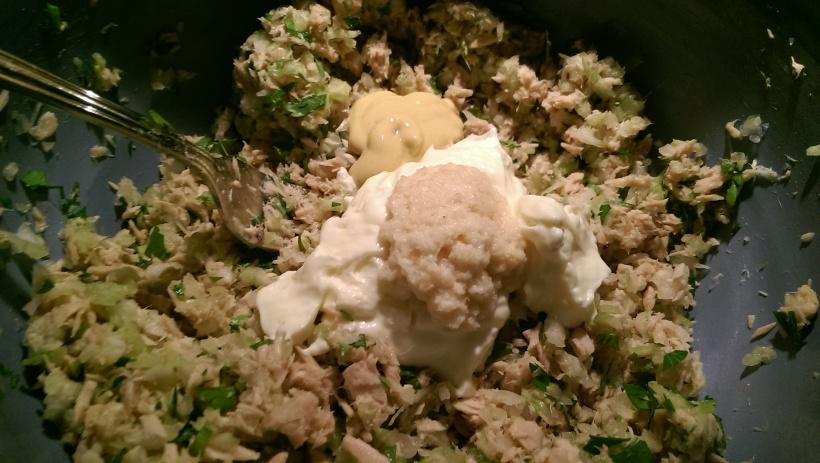 A twist on Gram's Tuna Salad | The Half-Crunchy Mama