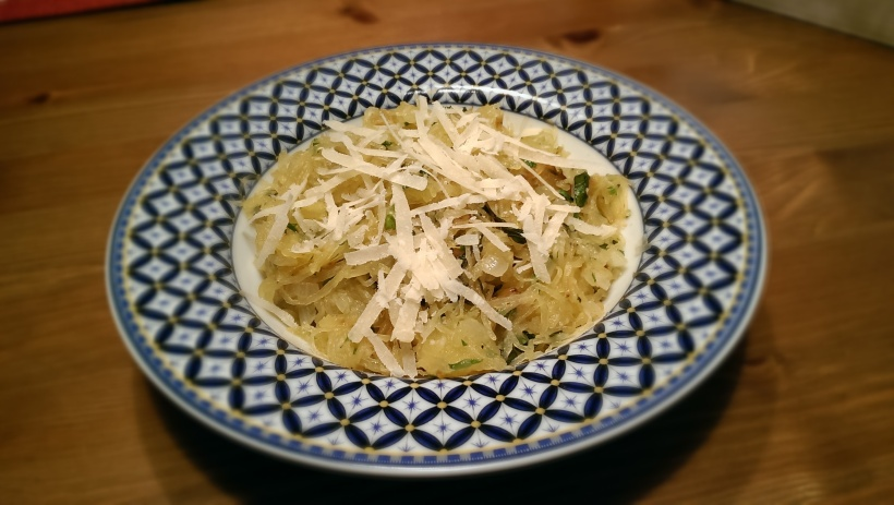 "Garlic and Herb ""Spaghetti"" 