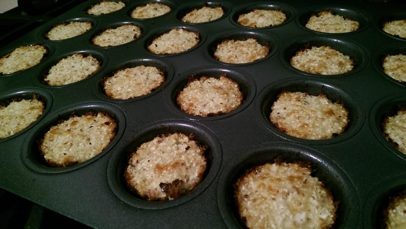 Baked Cheesy Cauliflower Tots   The Half-Crunchy Mama