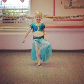 Finale at Princess Dance Camp - I love her choice!